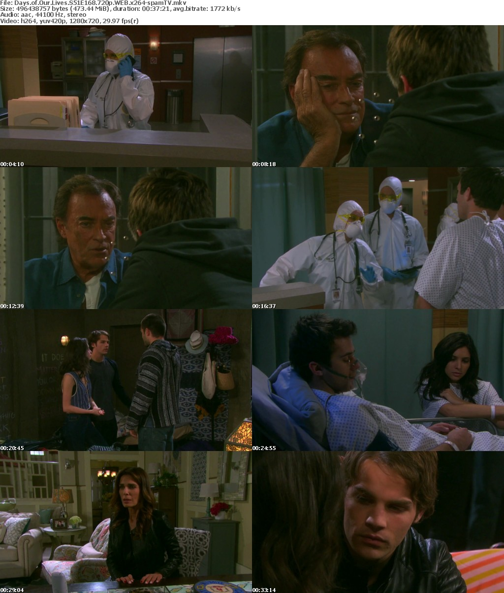 Days of Our Lives S51E168 720p WEB x264-spamTV