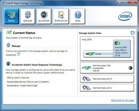 Intel Rapid Storage Technology (RST) 15.2.5.1035 WHQL