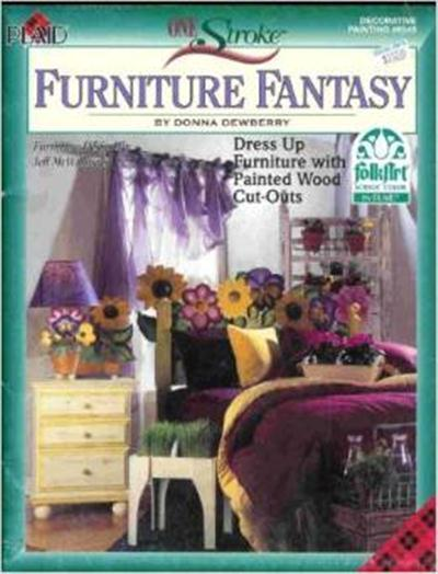 One Stroke Furniture Fantasy by Donna Dewberry