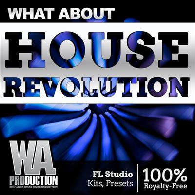 WA Production House Revolution WAV MiDi Synth Presets