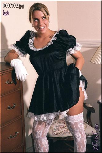 0349-Leah-French Maid