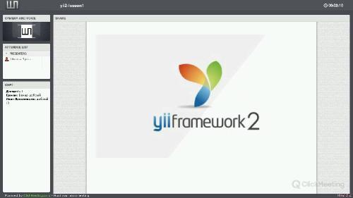 Школа программирования | YII 2 framework Профессиональная разработка на веб (2015) PCRec