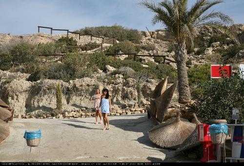 Cyprus Beach Lounging