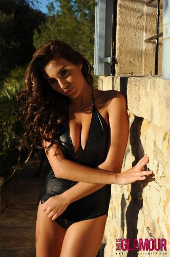 Chloe Goodman Strips Naked From Her Zip Up Pvc Bodysuit