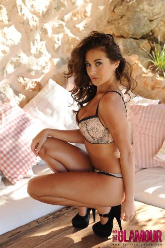 Chloe Goodman Strips Naked From Her Cute Lingerie