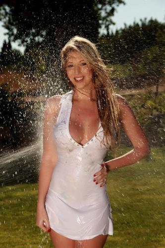 Lexi Lowe Masterbating In The Garden