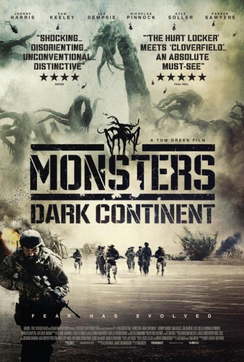 Strefa X 2 / Monsters: Dark Continent (2014) PL.BDRip.XviD-KLiO  / Lektor PL