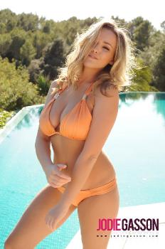 set076 Orange Bikini 27.10.12