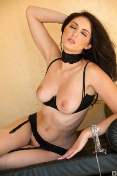 playboy black bra