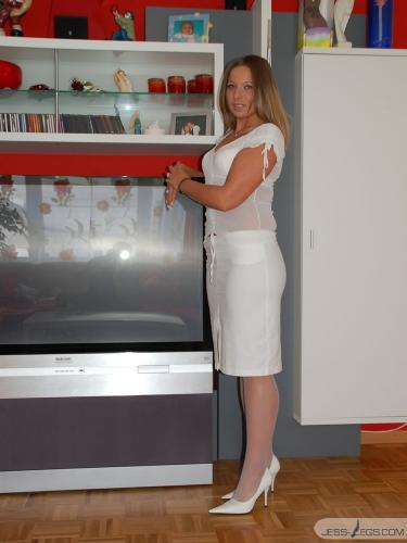 Dreaming in white Pantyhose