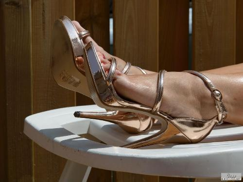 Stilettos in the Sun