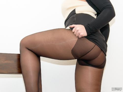 Arrogant Pantyhose Lady