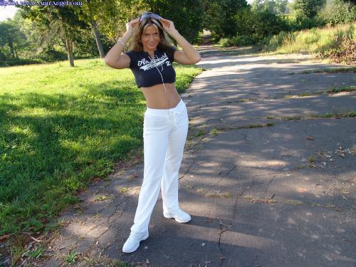 105 - White Pants