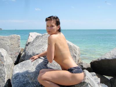 Nice naked amateur babe