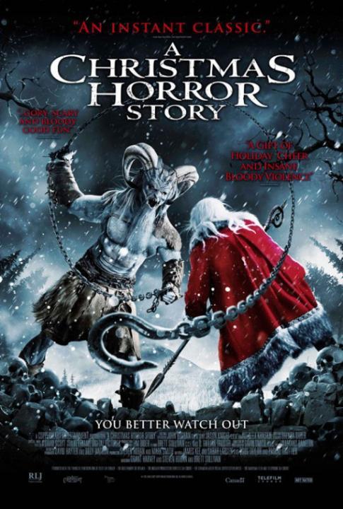 Koszmarna opowie�� wigilijna / A Christmas Horror Story (2015)  PL.720p.BDRip.XviD.AC3-KLiO  / Lektor PL