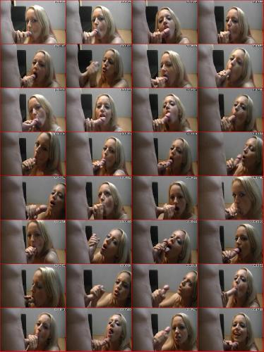 Cute amateur blonde blowjob hqhomeclips.com