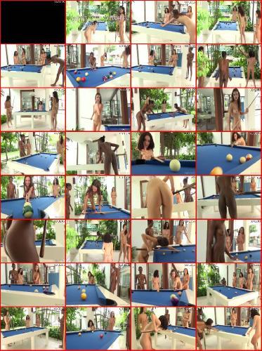 Candice Engelie Kiki Valerie Naked Billiards 1080p
