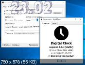 Digital Clock 4.4.5 - часы на десктоп