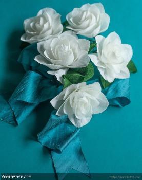 Цветы из гофрированой бумаги 5557cc72d9bb87a60ecf91d4d800bead