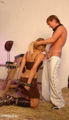 Cowgirl Takes a Restrained Pounding
