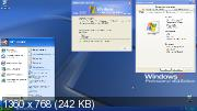 Windows XP Professional SP2 x64 v.1 by YahooIII (ENG+RUS/2016)