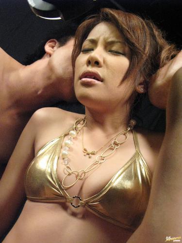 Sara Nakamura - Hot babe Sara Nakumara participates in wild sex orgy