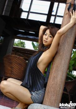 Honoka - Honoka Hot Asian Model Enjoys Outdoor Modeling Nude