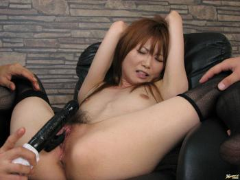 Rika Sakurai - Rika Sakurai Japanese babe gets her pussy fingered and drilled