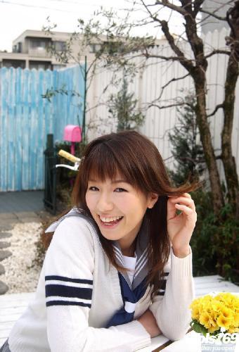 Towa Aino - Towa Aino School Girl Shows Off Her Big Tits In The Bath