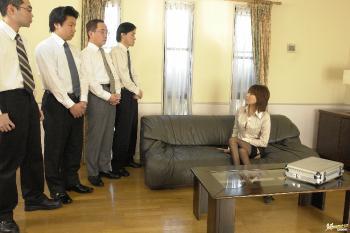 Jun Kusanagi - Jun Kusanagi Lovely Asian model plays in her pussy with huge dildo