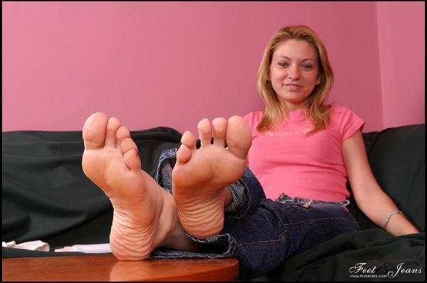 Sexy stacy silver feet