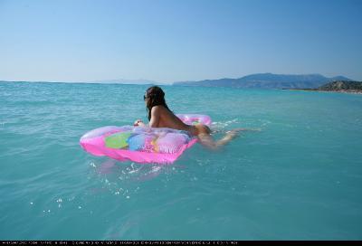 Greek Floaty Water Time