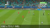XXXI Летние Олимпийские Игры. Рио-де-Жанейро (Бразилия). Футбол. Мужчины. Группа C. 1-й тур. Фиджи - Южная Корея [04.08] (2016) IPTVRip 720p