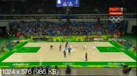 XXXI Летние Олимпийские Игры. Рио-де-Жанейро (Бразилия). Баскетбол. Мужчины. Группа A. 1-й тур. Китай - США [Матч! ТВ] [06.08] (2016) WEBRip-AVC