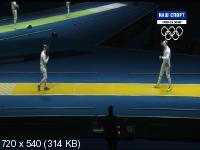 XXXI Летние Олимпийские Игры. Рио-де-Жанейро (Бразилия). Мужчины. Шпага. 1/8, 1/4, за 3-е место. Финал [09.08] (2016) IPTVRip-AVC