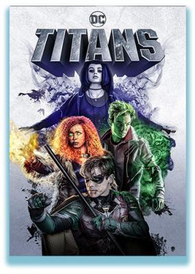 ������ / Titans [�����: 1, �����: 1-9 (13)] (2018) WEBRip 720p | BaibaKo