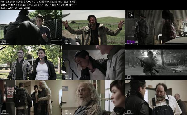 Z Nation S05E02 720p HDTV x265-MiNX